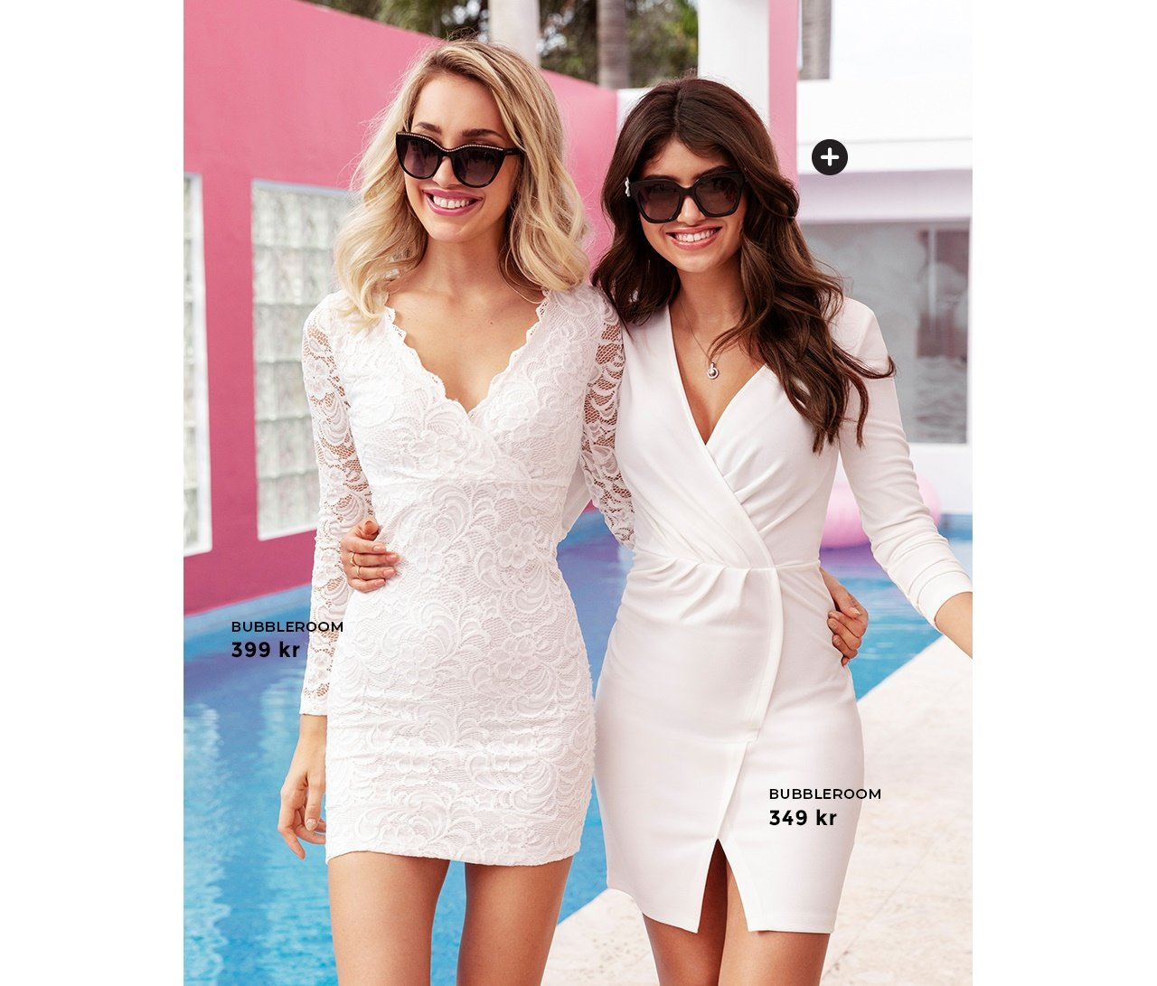 Spetsklänningar och vita enkla studentklänningar
