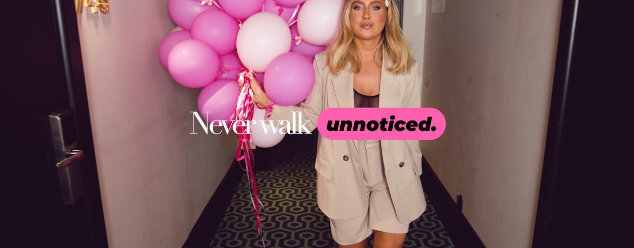 Never walk unnoticed - Se storyn här