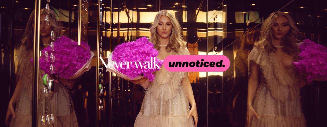 Never Walk Unnoticed - Se alla stories här - BLOCK 1
