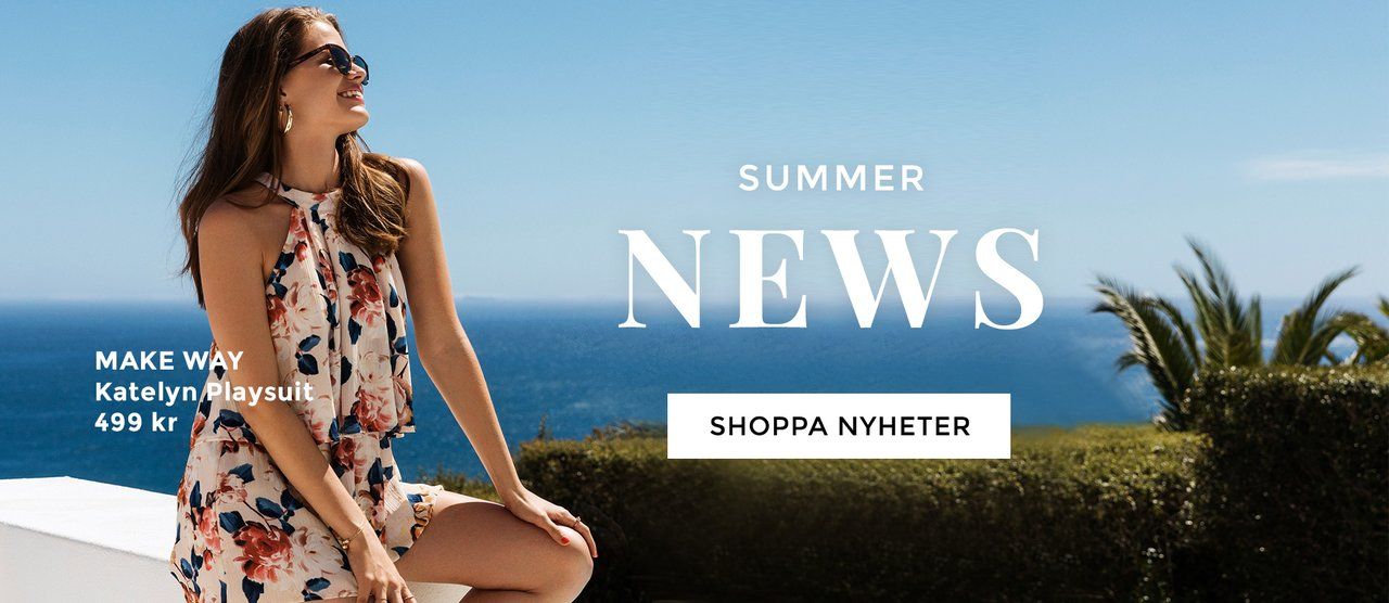 Nyheter - klänningar, toppar och långklänningar