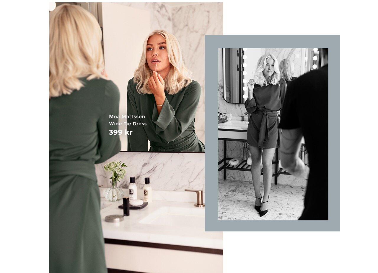 Moa Mattsson X Bubbleroom - Shoppa femninina klänningar
