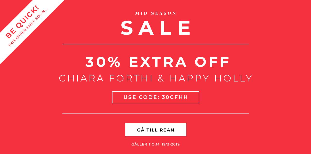 30% extra på Happy Holly och Chiara Forthi på rean 01aa741f01738
