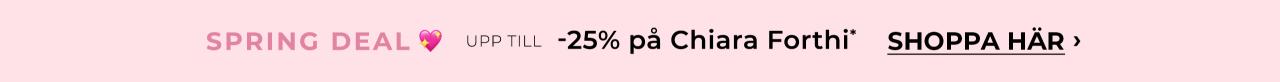 Upp till -25% på Chiara Forthi - Shoppa nu!