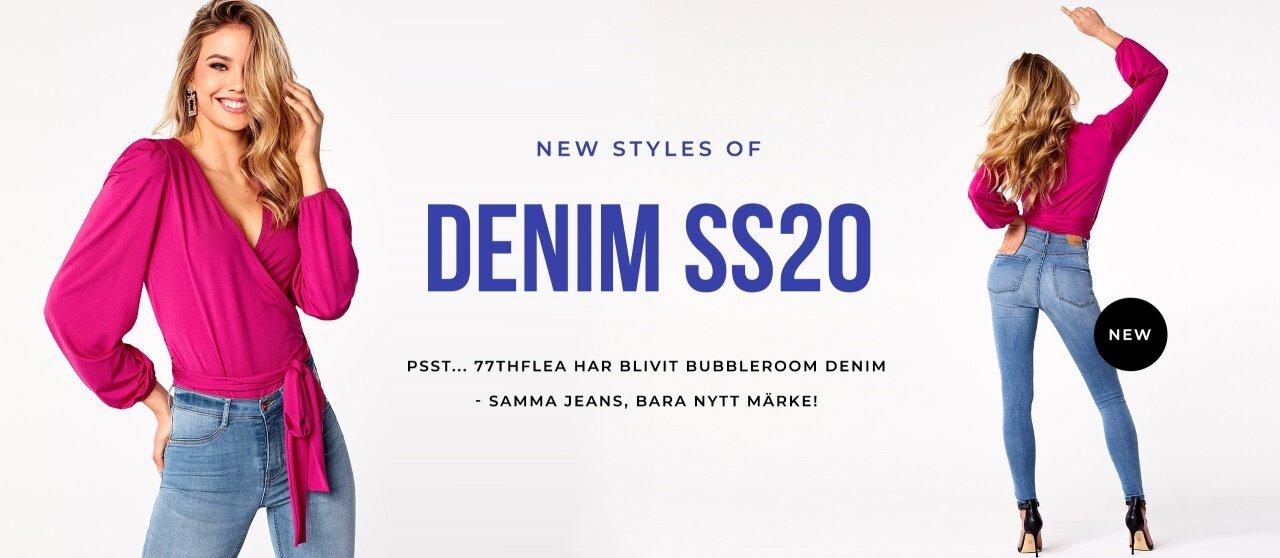 77thFlea har blivit Bubbleroom denim - Samma jeans, bara nytt märke!