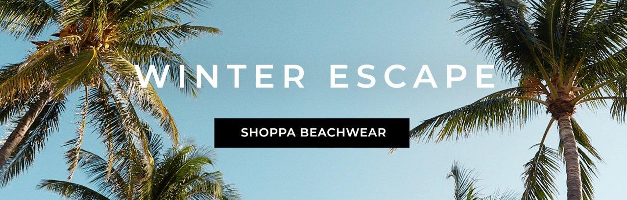 Bikinis, baddräkter och sandaler för vinterns alla exotiska resemål