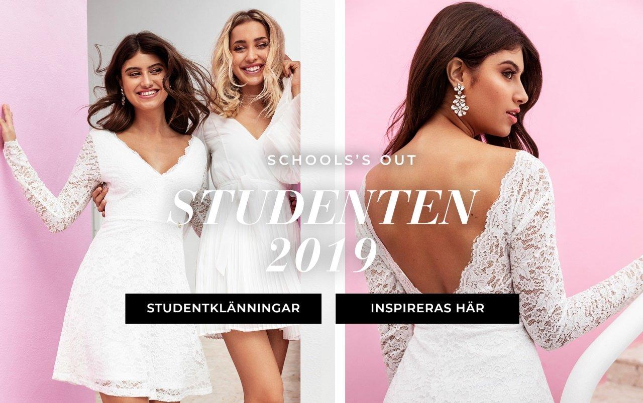 Studentklänningar från Chiara Forthi, Happy Holly och Make Way