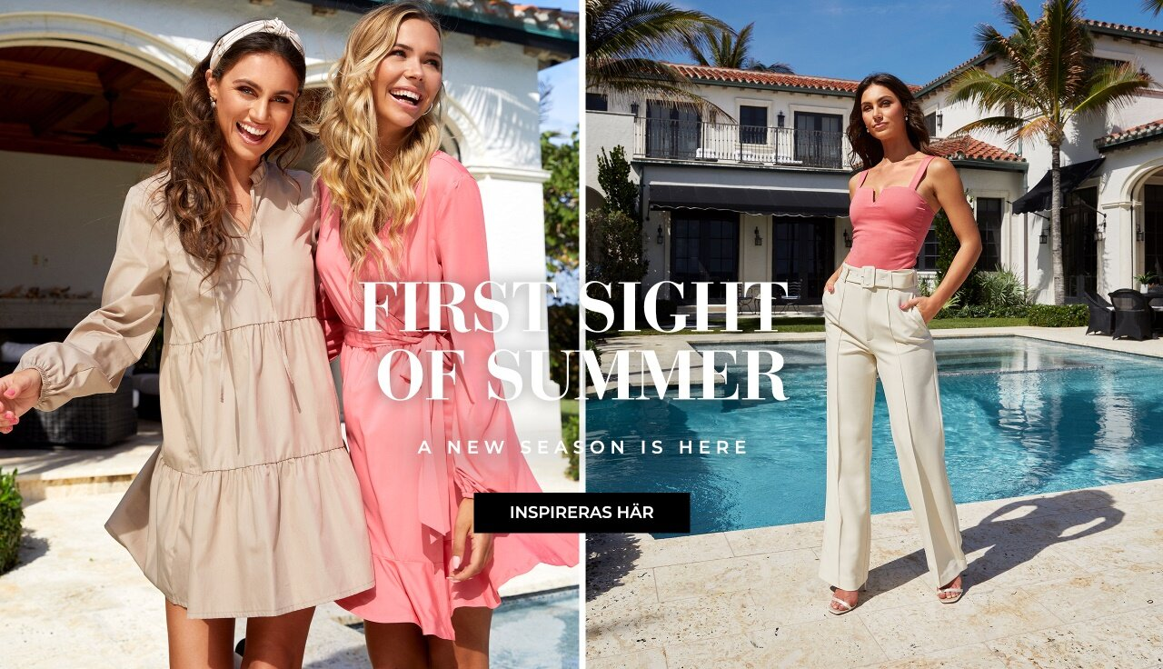 Firt sight of summer - Shoppa nyheter!