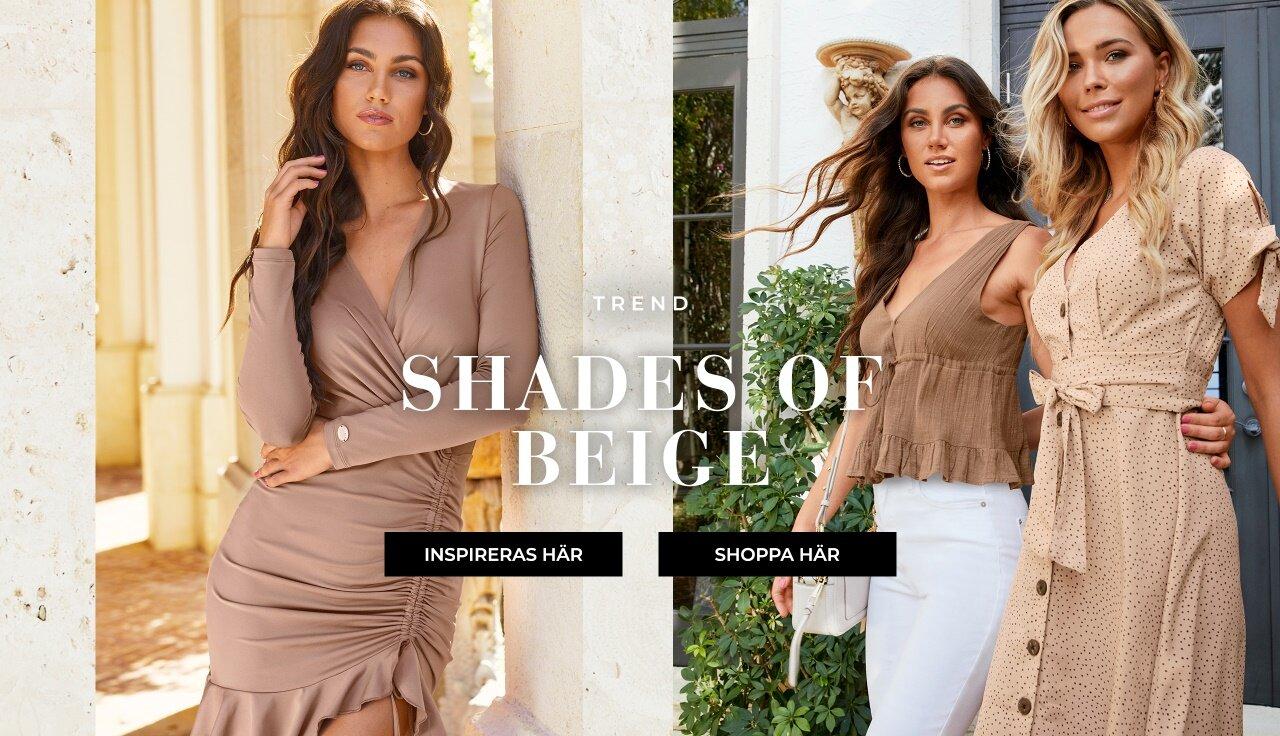 Trend - Shades of beige - Shoppa här!