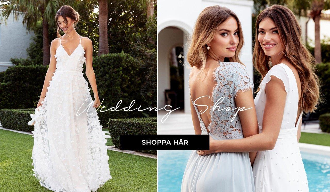 the latest 38a19 c58c7 Shoppa allt för bröllopet