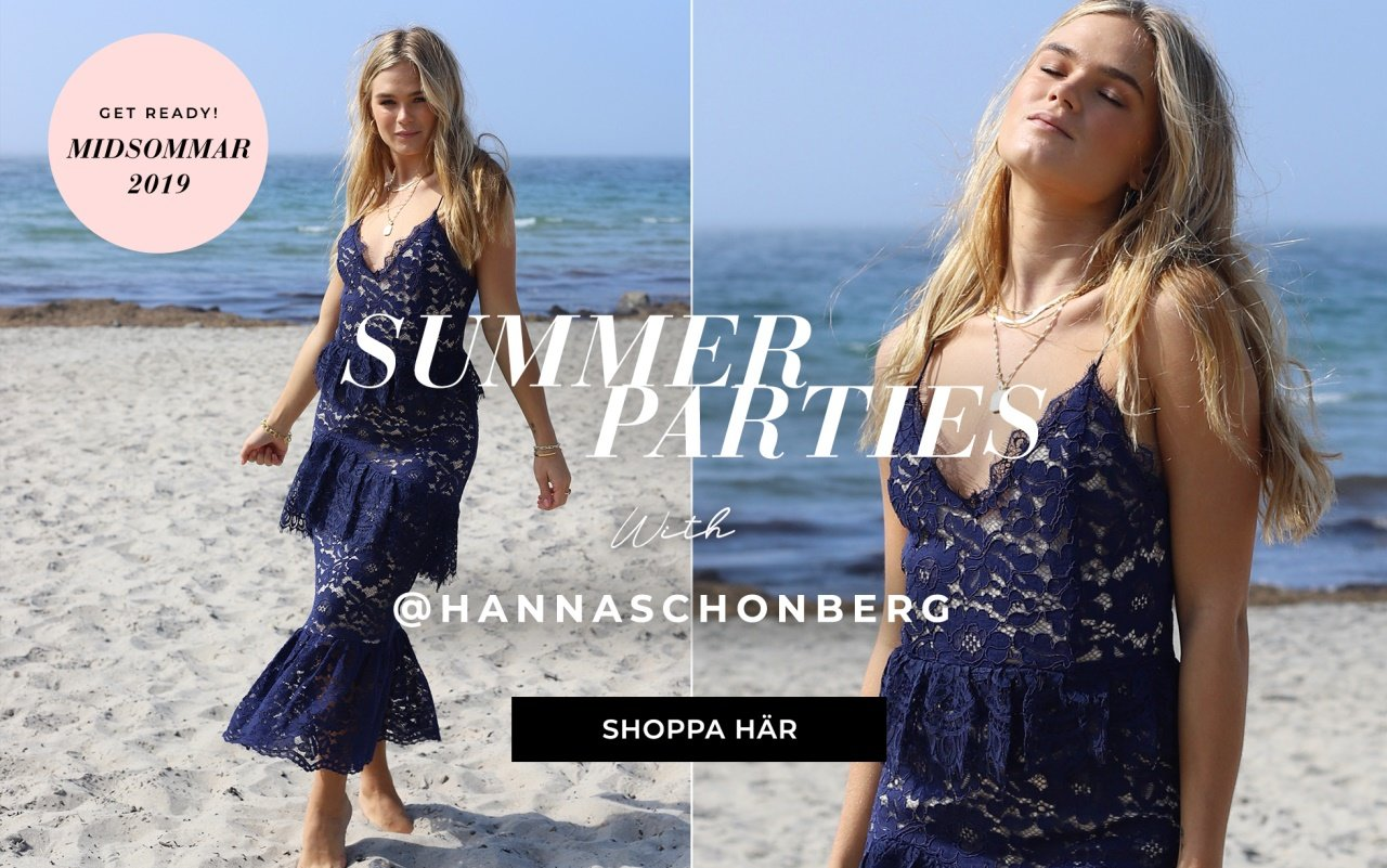 Summer parties with Hanna Schönberg