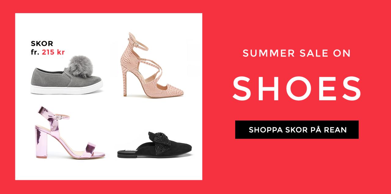 Shoppa skor i rean