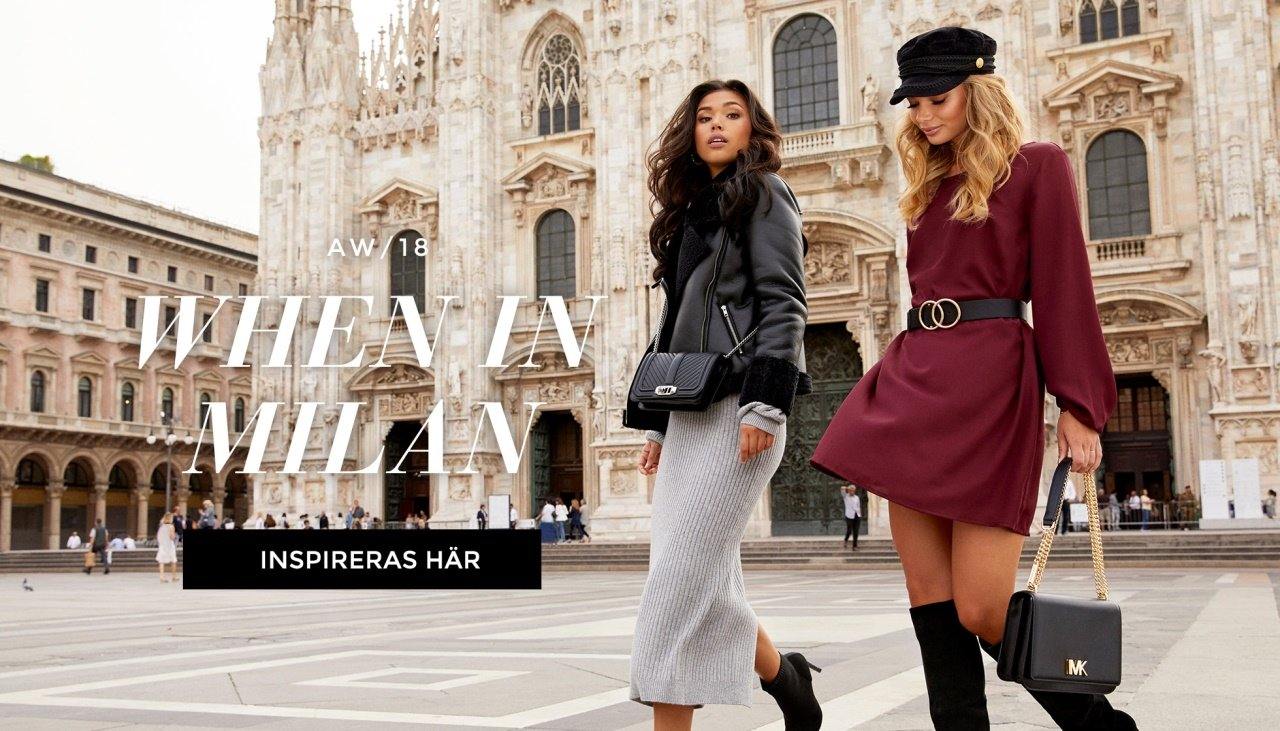 When in Milan - Höstnyheter