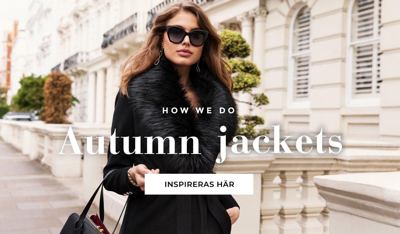 Shoppa höstens jackor hos Bubbleroom