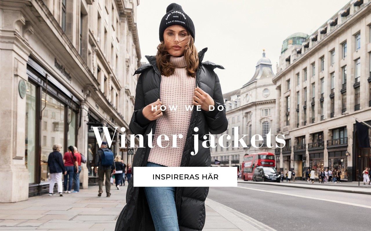 Shoppa vinterjackor från Bubbleroom