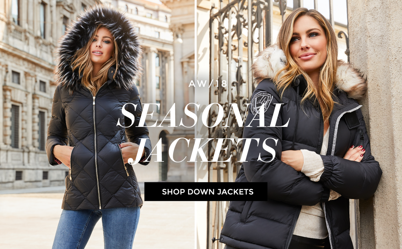 Shop down jackets