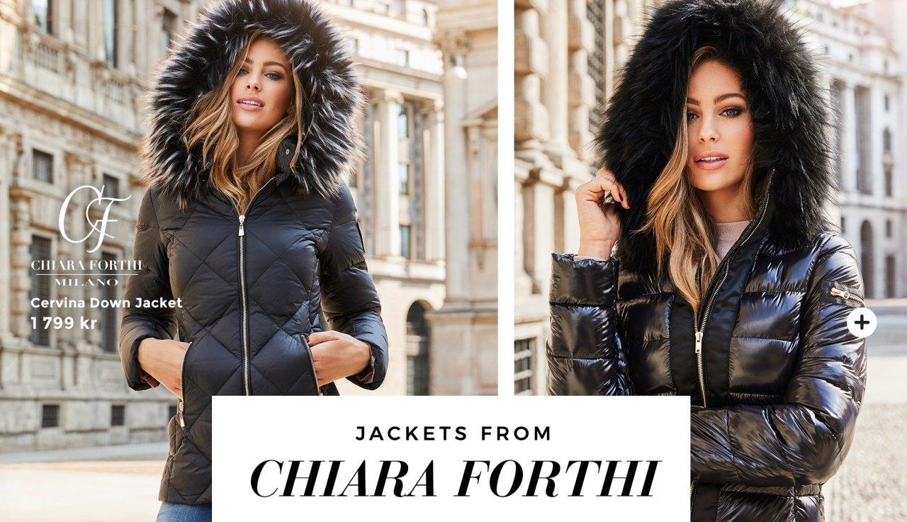 Vinterjackor från varumärket Chiara Forthi