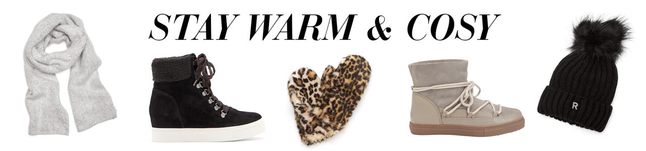 Shoppa sneakers, boots, mössor och vantar