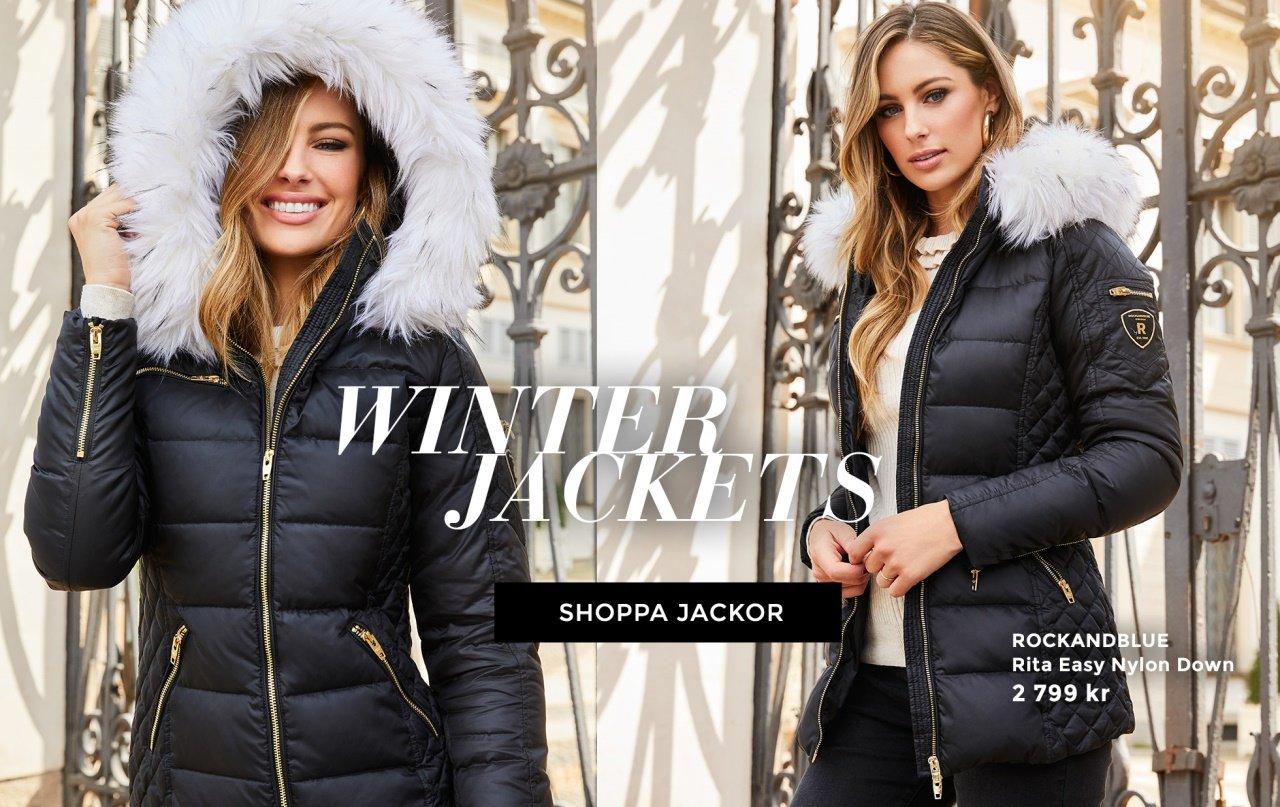 Vinterjackor, kappor och fuskpälsjackor