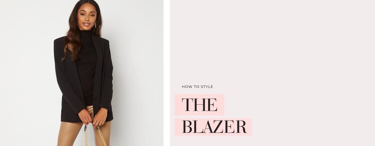 How to style the blazer - Shoppa här