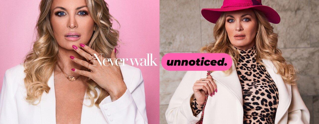 Never Walk Unnoticed - Shoppa Carolina Gynnings favoriter här