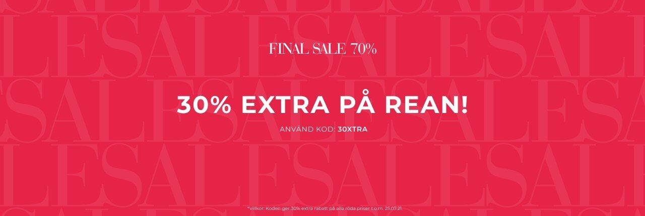30% extra på rean - Shoppa här - BLOCK1