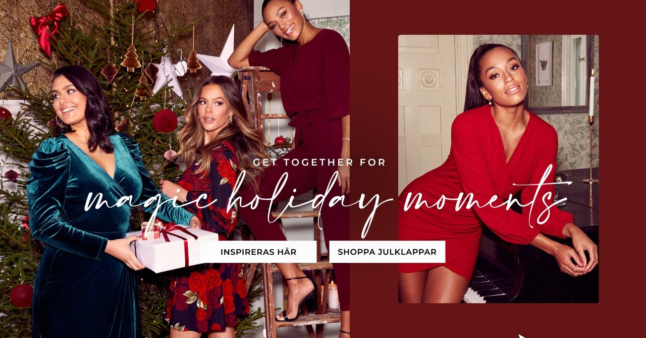 Get together for magical holiday moments - Shoppa här