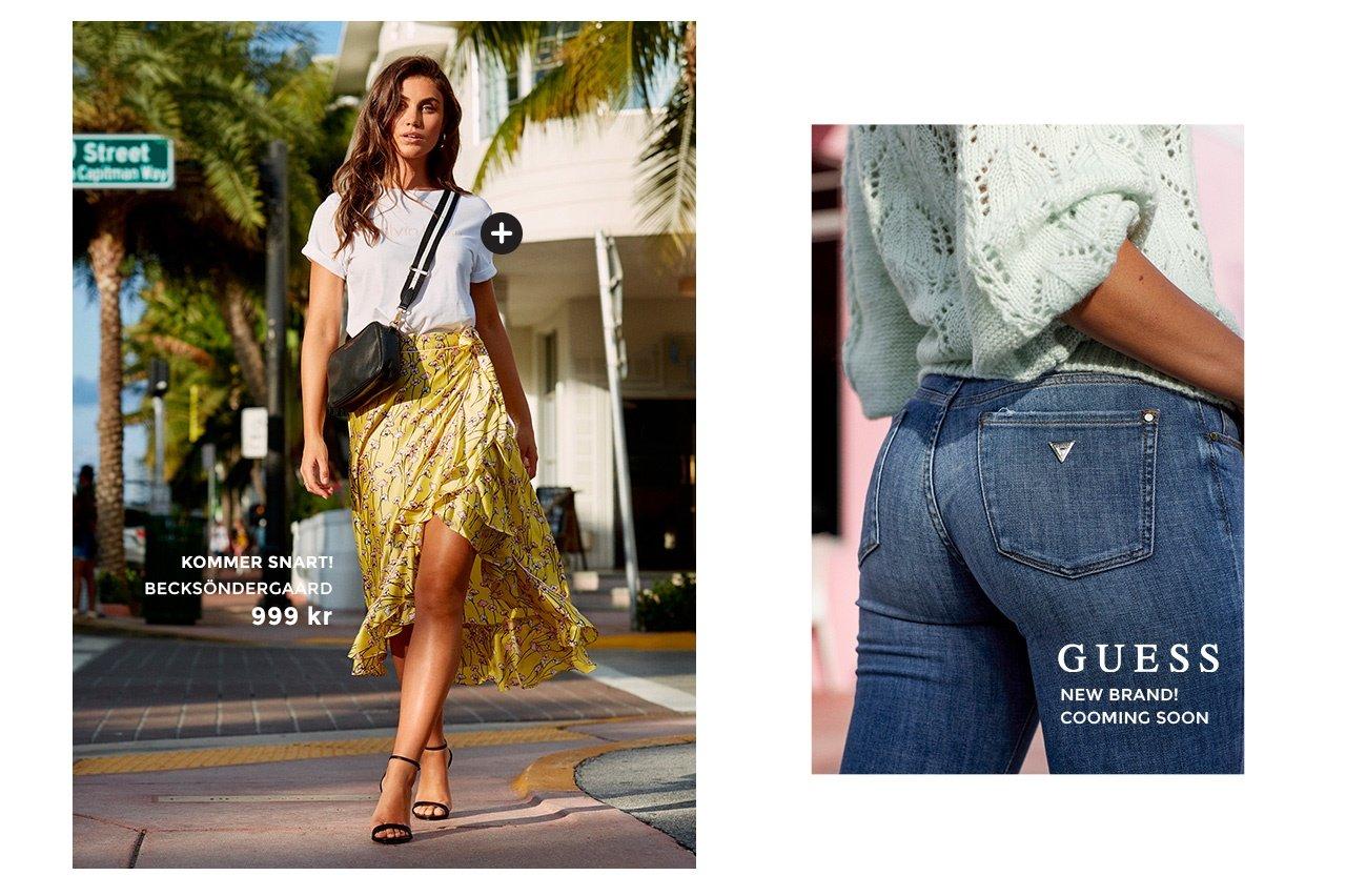 Shoppa Becksöndergaard, Guess New brand!