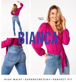 Vårnyhet - Bubbleroom jeans - Bianca