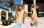 Feminin wrapklänning från varumärket Chiara Forthi