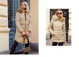 Varma beiga jackor från Chiara Forthi och Happy Holly