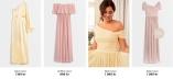 Nicole Falciani x Bubbleroom Rosa och Gula långklänningar