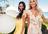 Narah dress Bubbleroom & Keira Ruffle Midi Dress Forever New - Shoppa klänningar för alla tillfällen