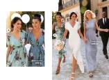 Floral Flutter Dress från varumärket Goddiva