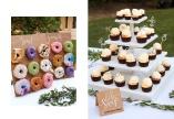 Hitta fyndiga alternativ som cup cakes till Bröllopet istället för Bröllopstårta