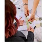 En bröllopskollektion för brudtärnan, brudens mor och bruden själv!