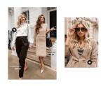 Shoppa lyxiga klänningar, toppar, blusar, byxor
