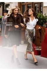 Shoppa säsongens jackor, kjolar, blusar