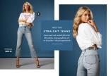 Jeans med rak modell från knä till ankel Dora Jeans från 77thFlea