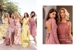 Mönstrade långklänningar och klänningar med spetsdetaljer