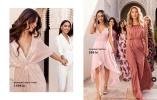 Glittriga klänningar med draperade detaljer