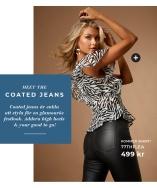Nyhet! Bianca Coated Jeans från 77thFlea