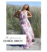 Fina blommiga klänningar från Chiara Forthi