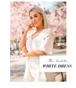 Vita klänningar i spets