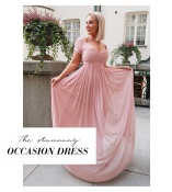 Lily draped Gown från Moments New York