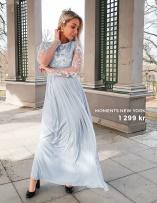 Daisy Mesh Gown från Moments New York
