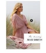 shoppa Långklänningar i dusty pink