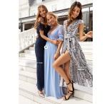 Shoppa mönstrade långklänningar perfekta för höstens alla fester och bröllop