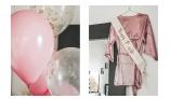 Ballonger och team bride detaljer