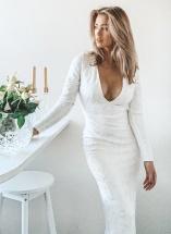 Brudklänningar i spets från Chiara Forthi