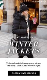 Shoppa vinterjackor - Den perfekta julkappen - Värmande klappar
